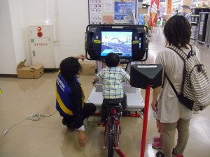 H26.5.14自転車シミュレーター写真