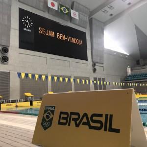 写真(ブラジル代表水泳チーム)