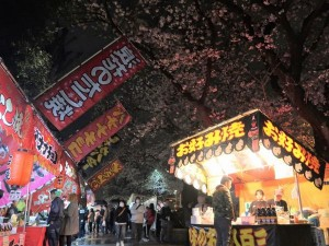 にしもん夜桜