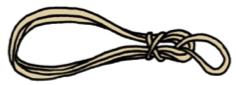 伐倒用ロープ