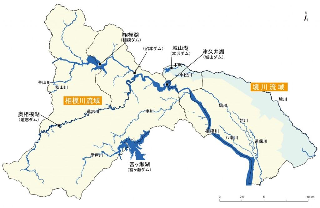 相模原市の水系