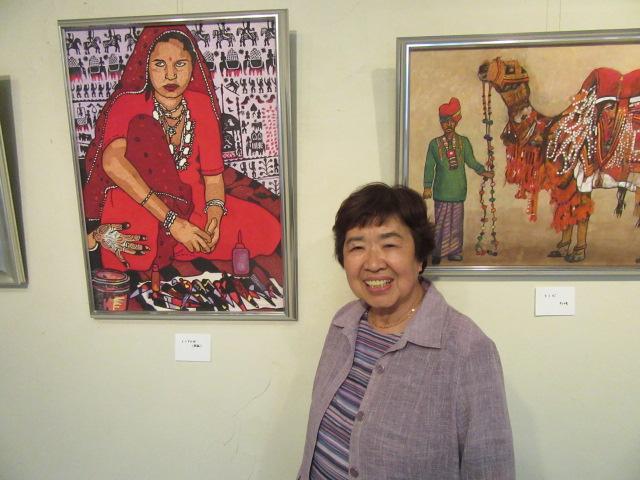 田嶋京子日本画展