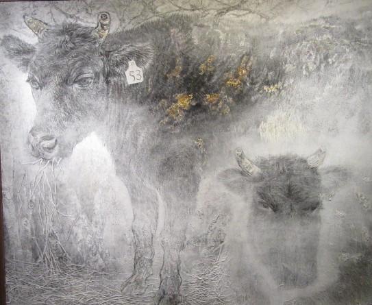 見捨てられた牛