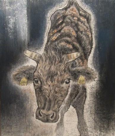 残された小牛ー1