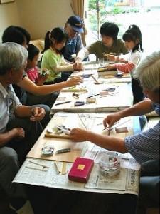 竹とんぼ制作体験
